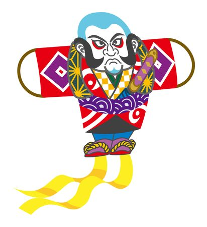 The Japanese Traditional kite
