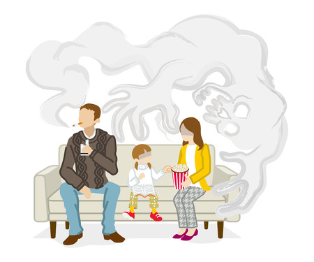 Secondhand smoke issue - Family