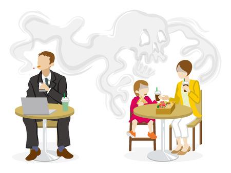 Rauchproblem aus zweiter Hand - öffentliche Räume