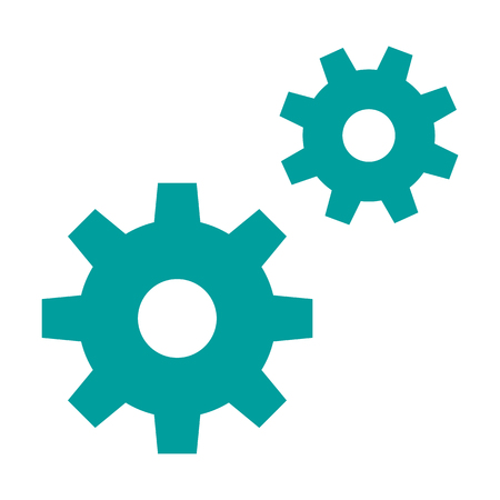 Two connected gears icon.