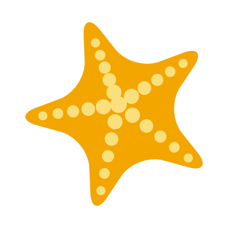 Starfish icon clip art