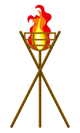 Flaming Torch Clip art