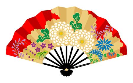 Japanese Decorative Hand Fan