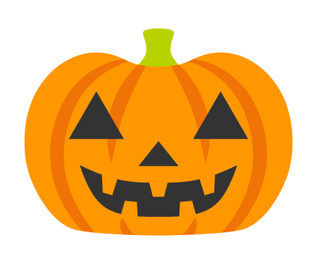 Cartoon Jack O' Lantern - Halloween Design Element 矢量图像