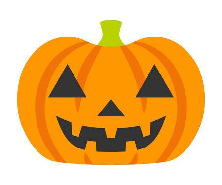 Cartoon Jack O' Lantern - Halloween Design Element Illustration