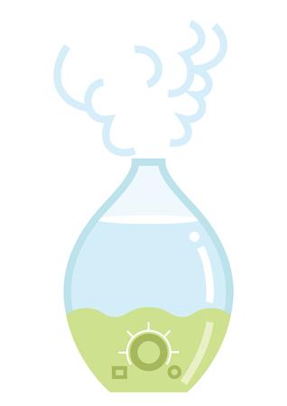 Humidifier - Simple cartoon vector Illustration Иллюстрация