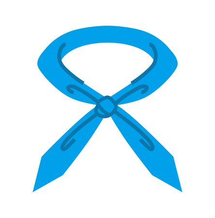 Blue neckband - object for prevent heat stroke