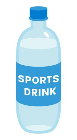 Sports drink bottle - object for prevent heat stroke Ilustração