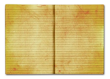 grunge notebook Stock Photo - 6095820