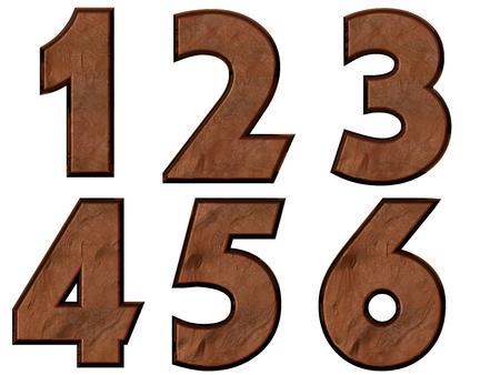 123456 番号分離、汚れた ロイヤ...