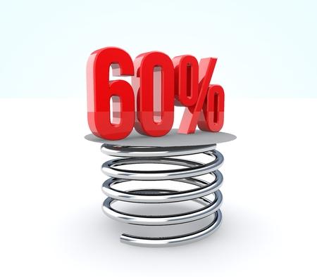 Concept of sale  Discount percent off   photo