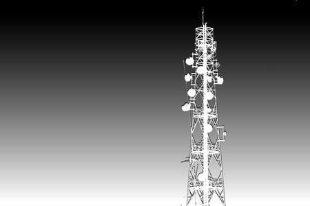 telecommunications equipment: Antenna signals.