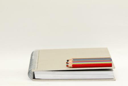 Book a pencil. photo