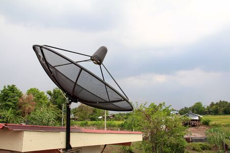 Satellite dish Stock Photo - 13388184