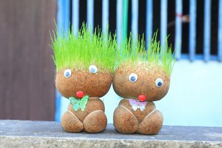 Grass Puppe