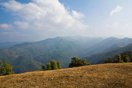 great smoky national park: Mountains
