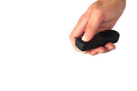 press the remote photo