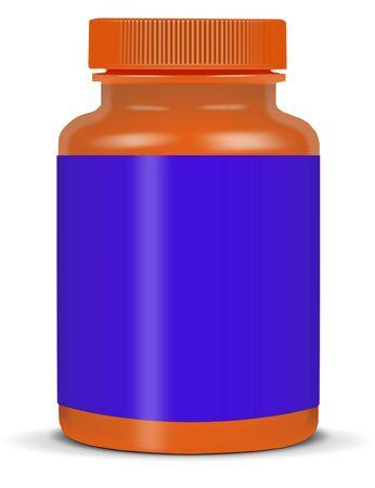 antibiotics: medicine bottles