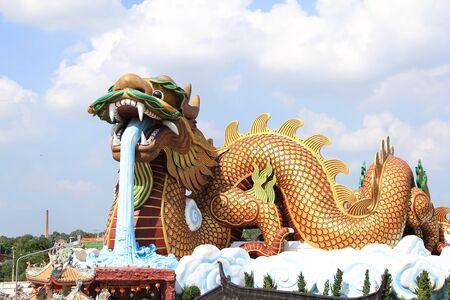 dragon sculpture in Thailand