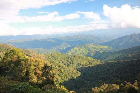 Mountain view Standard-Bild