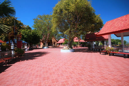courtyard Standard-Bild