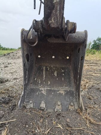 small backhoe Standard-Bild