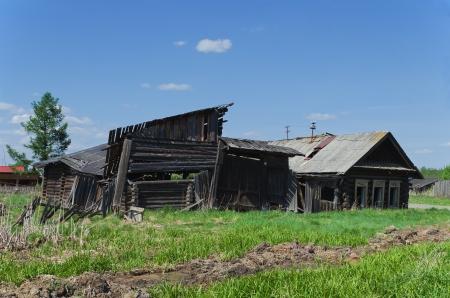 abandoned rural house Imagens