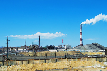 Copper smelting plant in Karabash, and the consequences of its impact on the surrounding area