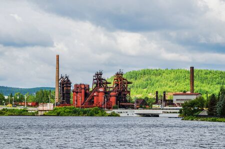 The plant is a Museum of metallurgy based on the territory of the ironworks founded in the 18th century by Demidov after its closure. Russia, The Urals