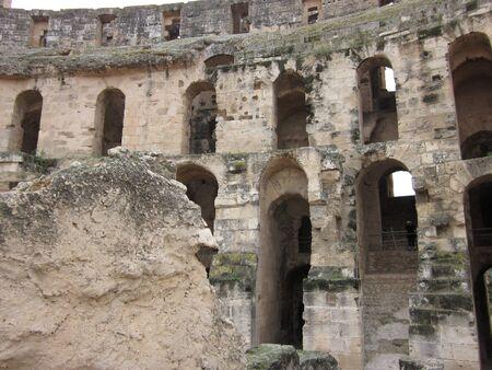 amphitheatre: El Djem Amphitheatre Tunisia