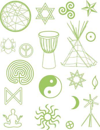 djembe: Festival Pack Illustration
