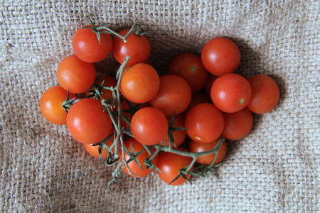 Rustic Vine Ripened Tomatoes photo