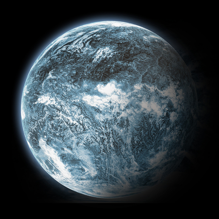 Fantasy Blue Planet photo