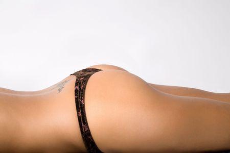 culo: close-up de los j�venes mujer sexy