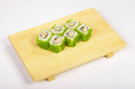 Rolls on the tray