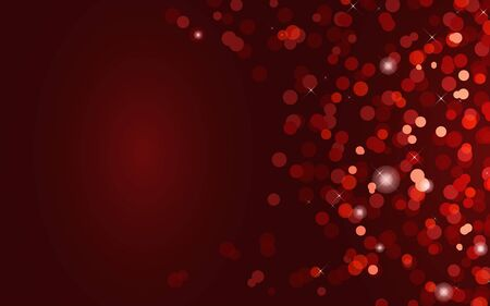 red abstract blur background