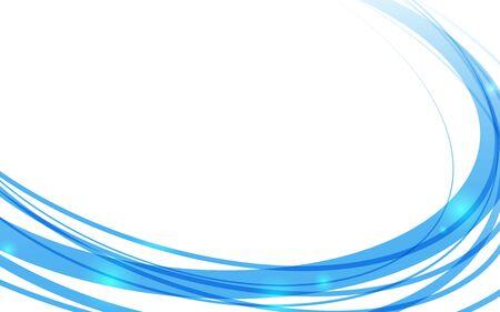 Blue circular background