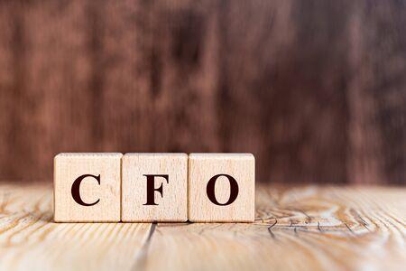 letter of the alphabet of CFO