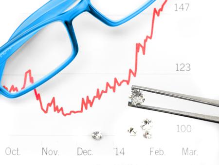 diamond: diamond trade Stock Photo