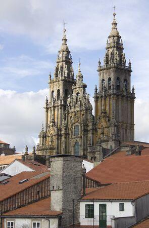 Cathedral. Santiago de Compostela photo