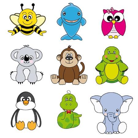 rana venenosa: Dibujos de animales y mascotas  Vectores