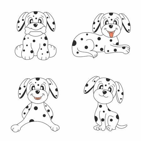 Dog design set  Vector