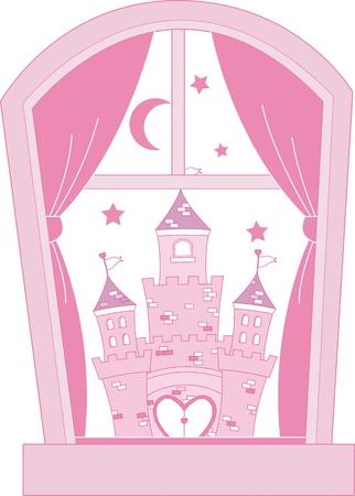 castillos de princesas: Rosa princesa del castillo