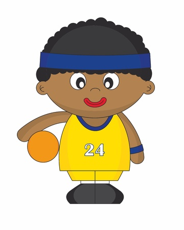 Basketball Player Stock Vector - 11621184