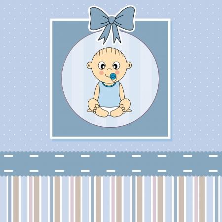 battesimo: Baby boy arrivo scheda annuncio