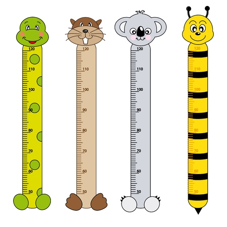 biber: Bumper Kindern Meter hohe Mauer. Tiere Aufkleber