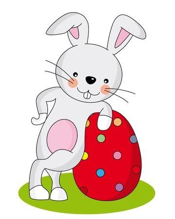 pascua: Conejo de pascua Illustration
