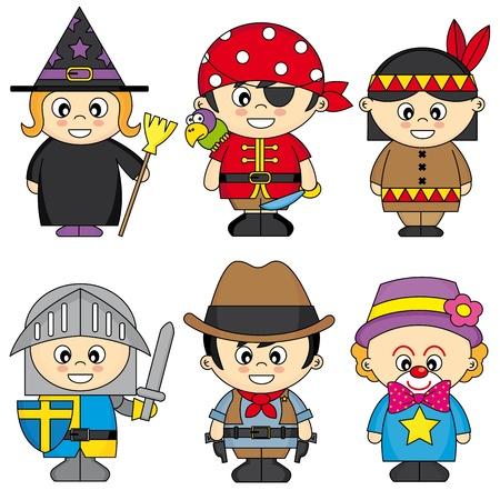 squire: children dressed