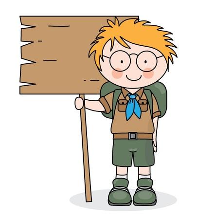 ranger: felice spazio boy scout per il testo
