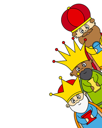 wise men: Letter to the Three Kings